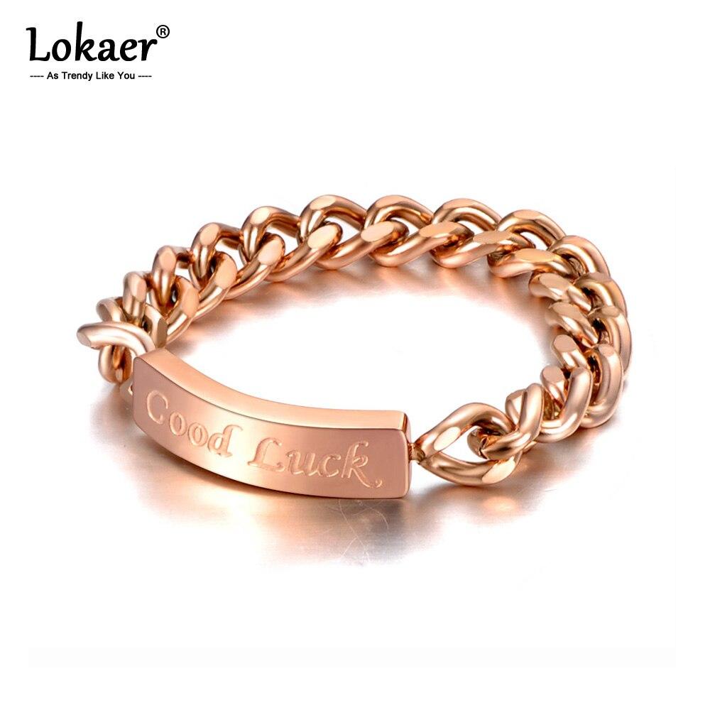 Кольца Lokaer из титановой нержавеющей стали женские, оригинальный дизайн, модная цепочка под розовое золото, коктейльное кольцо для девушек и...