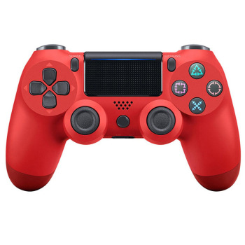 Bluetooth Wireless/Wired Joystick for PS4 Controller Fit For mando ps4 Console For Playstation Dualshock 4 Gamepad For PS3 Consumer Electronics Video Games Joysticks color: wireless Red Ships From: China