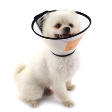 Pet protection head hood protective anti-bite Velcro design adjustable size pet supplies new