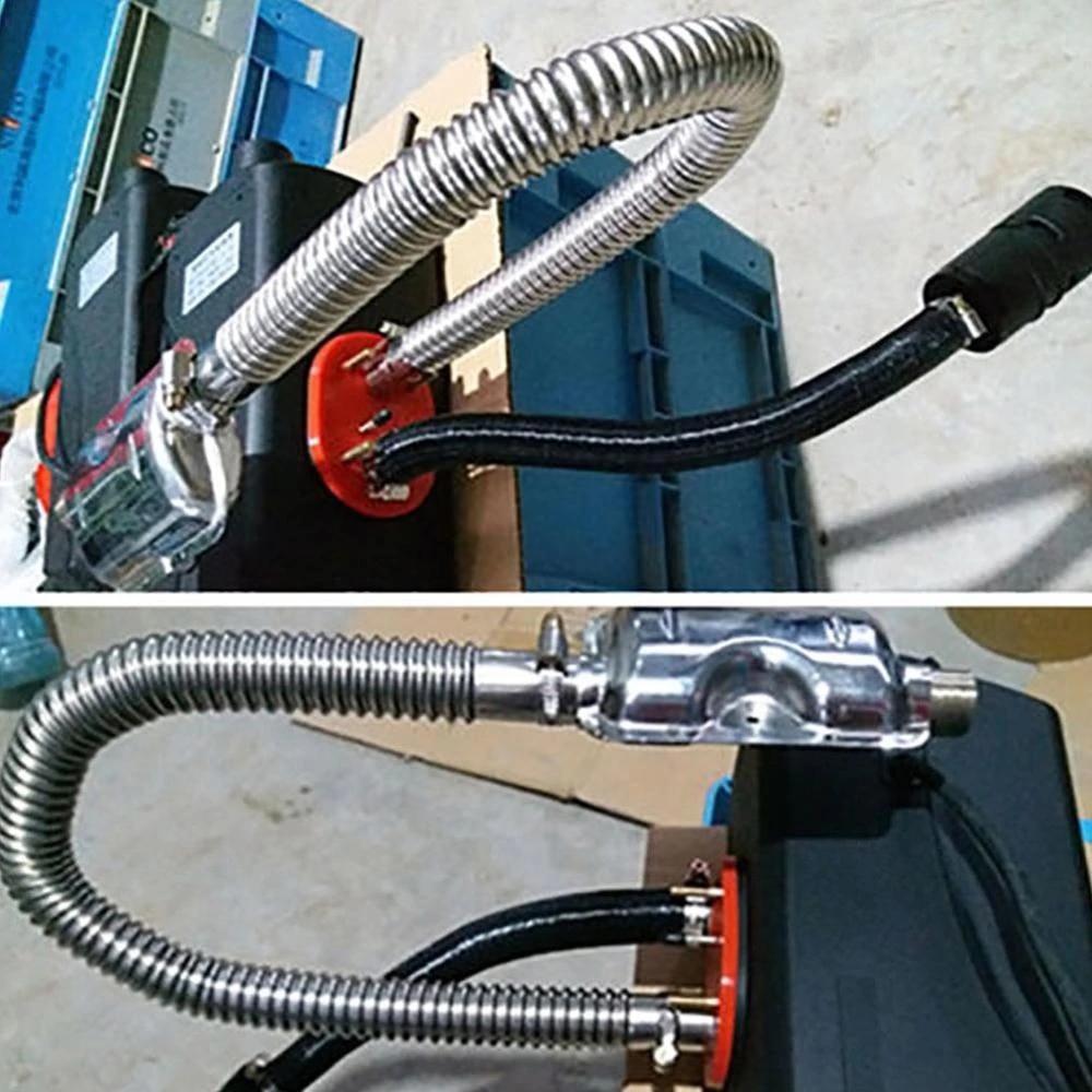 60cm stainless steel car exhaust pipe gas vent hose diesel heater exhaust muffler pipe for webasto eberspacher heater hot sell
