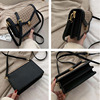 MSGHER Solid Color PU Leather Crossbody Bags For Women 2020 Chain Shoulder Messenger Bag Female Travel Lock Handbags