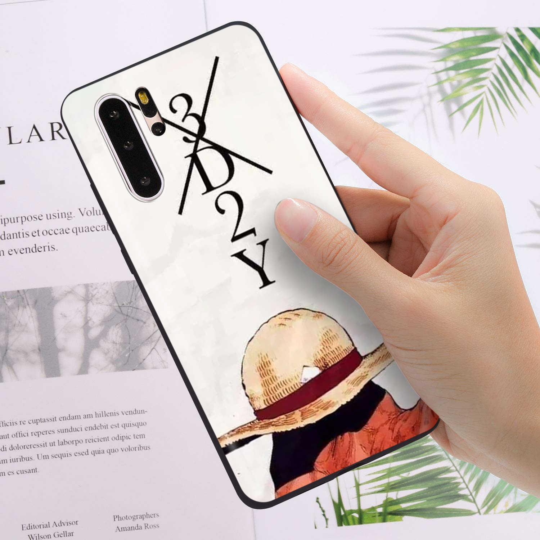 YIMAOC coque Luffy monobloc pour Huawei Mate 30 20 Honor Y7 7a 7c 8c 8x9 10 Nova 3i 3 Lite Pro Y6 2018 P30 P smart