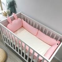 Rabbit Ears Type baby bed bumper Newborn Baby Bedding Set Baby Cot Crib Bumper Baby Decoration Room Baby Nursery Kid Crib Bumper