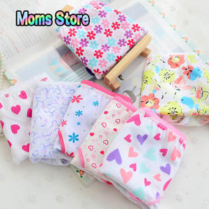 Kids Underwear Briefs Girls Children 6pcs/Pack Short New Fashion Cotton
