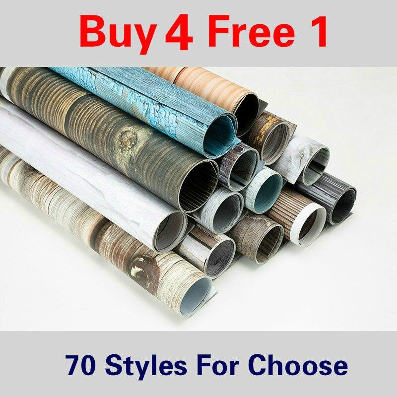 [Купить 4 бесплатно 1] 57х87см фон для фотосъемки Мраморный 2 сторонний фон для фотосъемки с изображением деревянного зерна водонепроницаемый ...