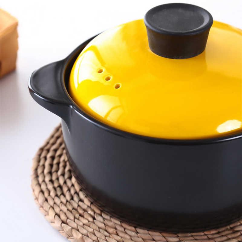カラフルなセラミック高温耐性キャセロールセラミック鍋カバー