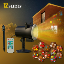 Pattern-Projector Disco Led Party Anime 12-Switchable IP65 for Christmas Halloween Laser
