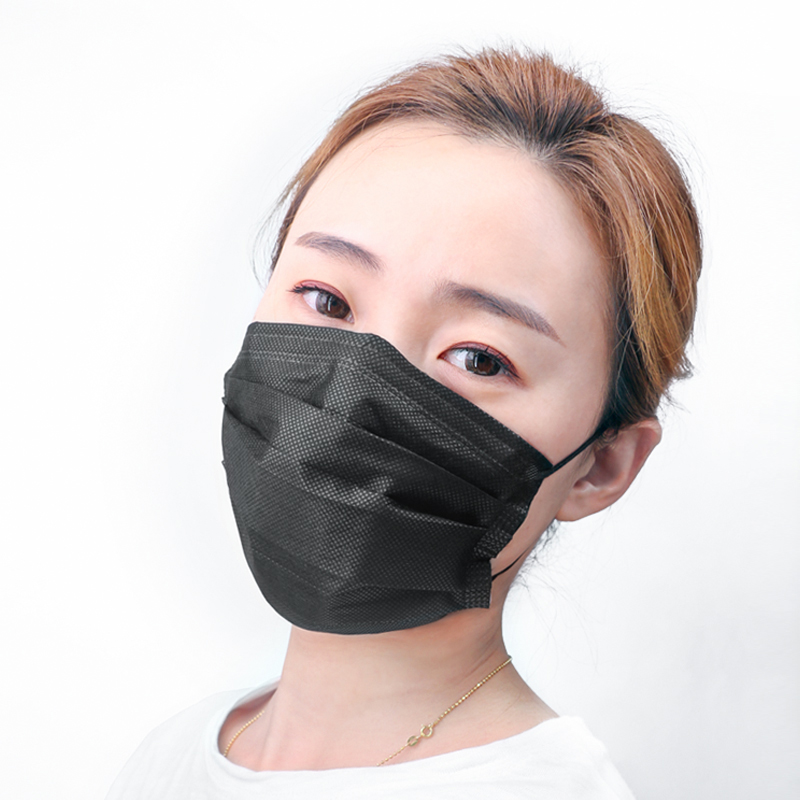 50PCS/box Disposable 3-Layer Protection Face Masks Earloop Anti-Dust Mouth Face Mask