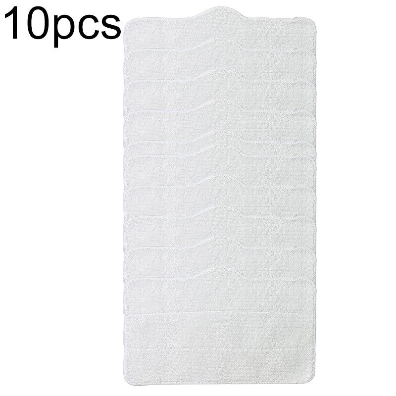 10 Uds. Almohadillas de limpieza de paño para Xiaomi Deerma DEM ZQ600/610 accesorios de reemplazo de aspiradora Mantel de mesa decorativo GIANTEX mantel de algodón mantel redondo para comedor