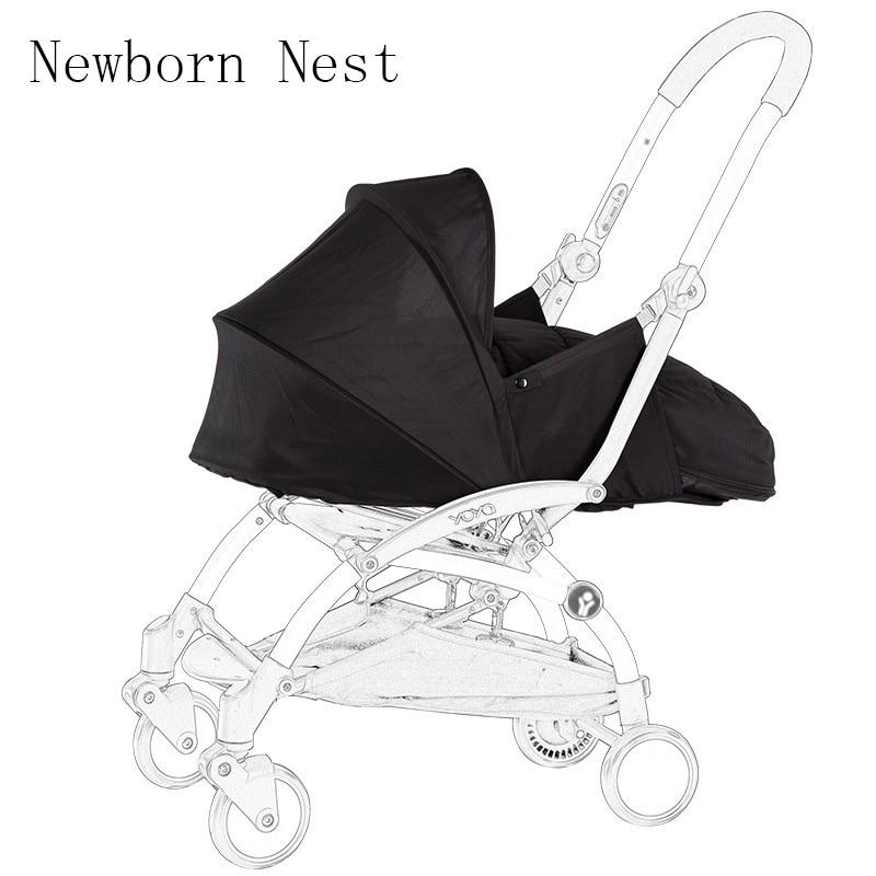 0-6 Months Sleeping Bag Light Stroller Newborn Sleeping Block Winter Baby Nest Pram Accessories Stroller Accessories