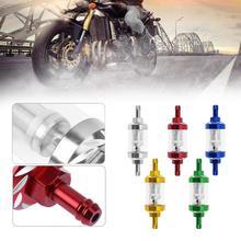 купить 8mm CNC Gas Fuel Oil Filters Fuel filter Motorcycle Accessories For ATV Dirt Pit Bike Automobile Motor Filtro Dos Sonhos Aceit по цене 156.31 рублей