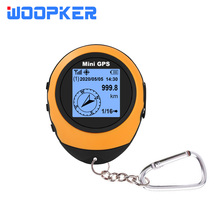 Portable Navigator Mini GPS Tracker Quad Band with Keychain Rechargeable Gprs Locator for Travel Sport Hiking Mount Bike