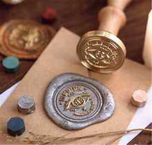 Eye of the demon Wax Seal Stamp personalized Wedding Invitation Wax Stamp mushroom seals stamp Custom Sealing Wax Stamp(China)