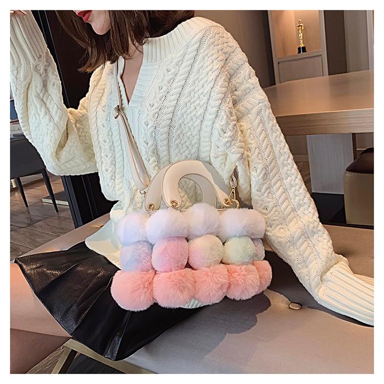 Elegante sacola Feminino 2019 Moda de Nova