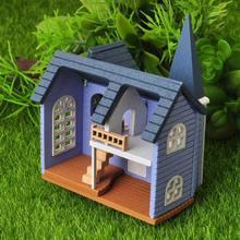 Diy Мини Деревянный кукольный домик сказочный город миниатюрный