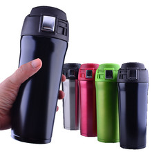 480ml BPA FREE Insulated sports outdoor auto MILK coffee Cup Stainless Steel Thermos Water Bottle Vacuum Flasks Travel TEA Mug