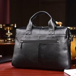 Image 3 - MAHEU marque créateur de mode en cuir porte documents hommes affaires sacs IPad ordinateur sacs 2019 mode chaude hommes sacs à main