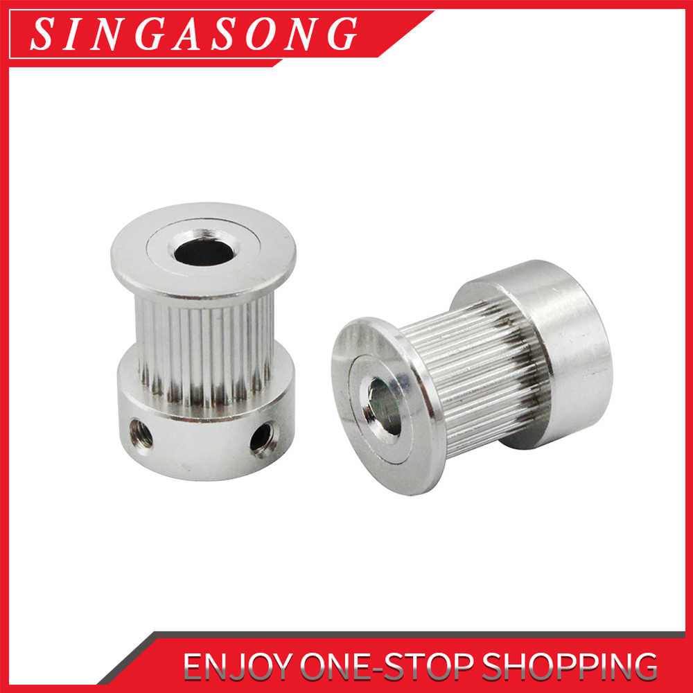 Bore 5/6.35/8 mm 2GT-20T 2GT-16T synchronous wheel pulley timing nbelt pulley gt2 synchronous round pulley gear