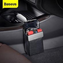 Baseus Universal Leather Car Storage Bag Cell Phone Holder Car Multifunctional Seat Organizer Magnet Pocket Organizer