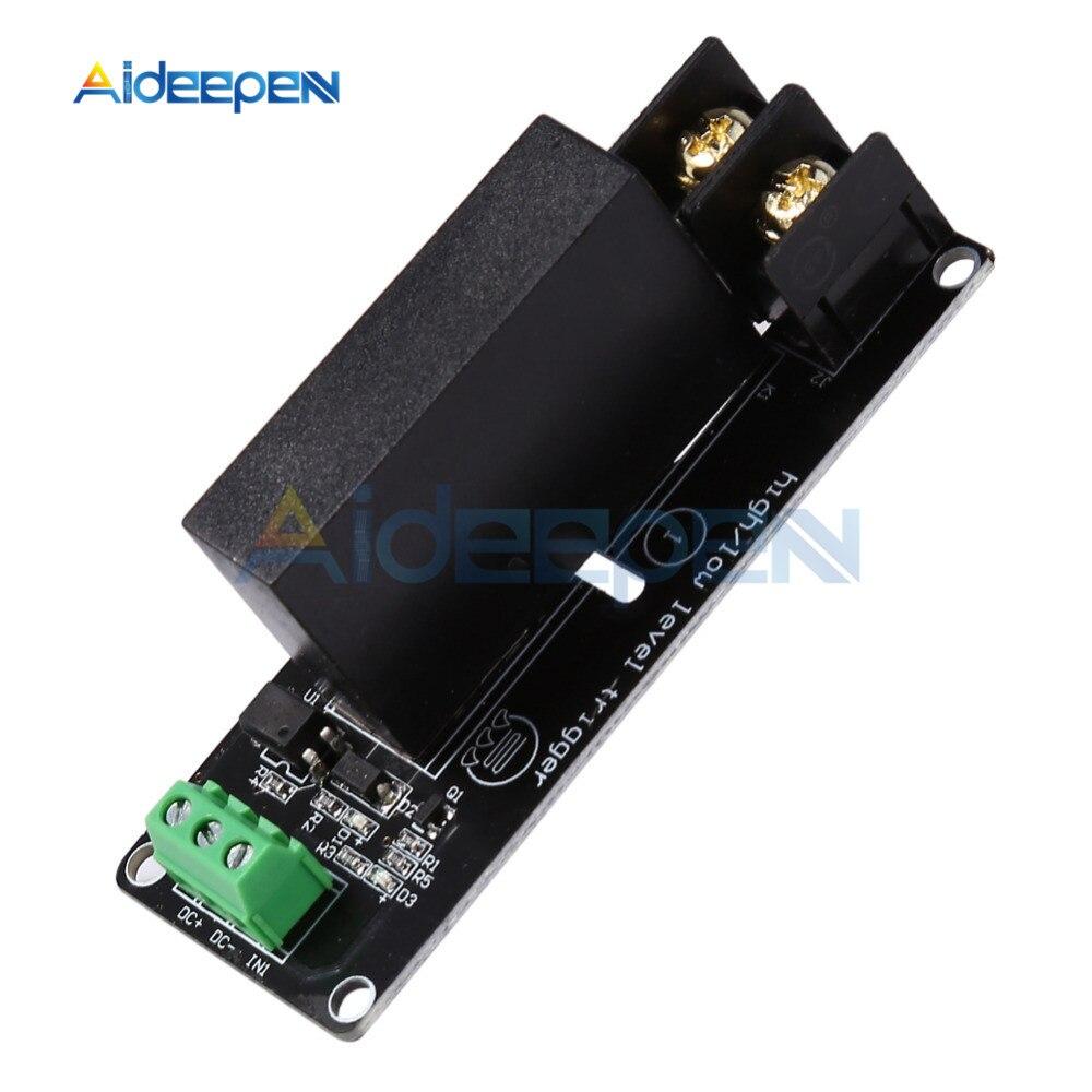 380V 8A 1 канальный твердотельные реле Модуль высокого и низкого уровня триггера доска SSR-D3808HK переключатель плата контроллера для Arduino
