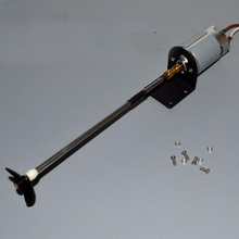 Yuenhoang 550 RC Boat motor with Drive shaft propeller bushing kit set modify spare parts for   model