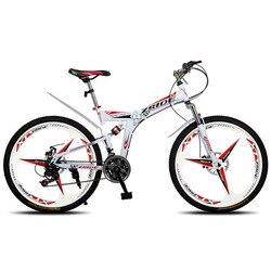 Mountain Bike 26 Cal 21/24/27/30 prędkości 3 nóż składany podwójny hamulec tarczowy rower 2019 nowy nadaje się dla dorosłych