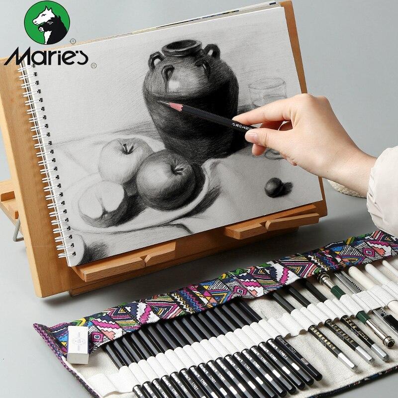 Mary's Sketch Pencil Set Sketch Pen Drawing Pencil Set Beginner Student Professional Full Sketch Sketch Sketch Pen Art Supplies