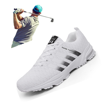 New Summer Men Women Golf Sport Shoes Big Size 35-47 Outdoor Golf Training Sneakers Lightweight Professional Mens Golf Trainers