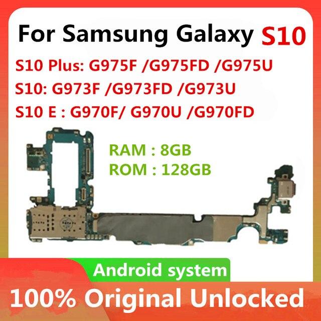 Nhà Máy Mở Khóa Cho Samsung Galaxy S10 S10 Plus S10E G975F G975FD G975U G973F G973FD G973U G970F G970U G970FD 128GB