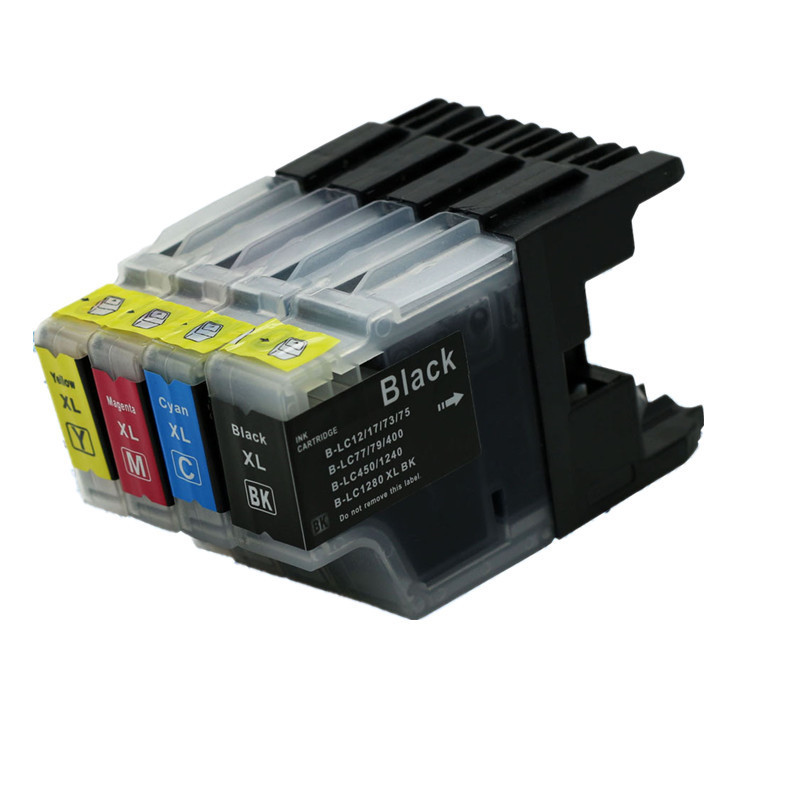 4PK Ink Cartridges LC1240 <font><b>LC1280</b></font> LC73 LC77 LC79 Compatible for Brother MFC-J860DN MFC-J860DWN MFC-J960DN-B MFC-J825DW MFC-J840N image