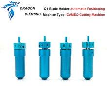 1 pçs para a silhueta cameo roland lâmina titular cortador c1 combinado para plotador de corte adequado 30/45/60 graus roland cortador