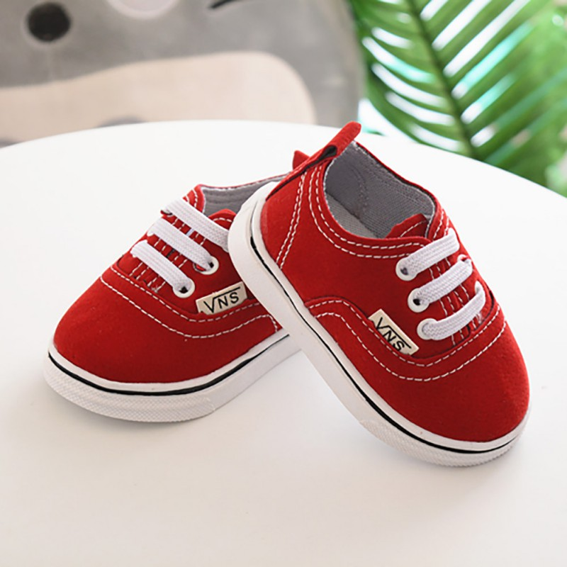 Infant Toddler Shoes Newborn Shoes  Baby Boy Girl Spring Autumn Soft Bottom Spring Canvas Shoes Walkers 0-24M