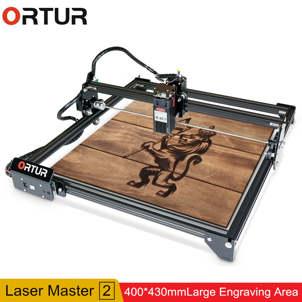 ORTUR Laser Master 2 32Bits Motherboard Laser Engraving Machine High Precision Fast Carving For DIY Engraving 7W 15W 20W