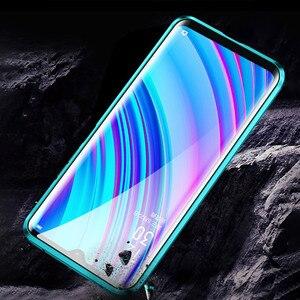 Image 4 - 磁気吸着ケース Realme ため X2 プロ両面強化ガラスフル保護ケース Realme X ライト Q X2 高級電話ケース