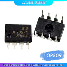 10pcs TOP209P TOP209PN TOP209 LCD management chip DIP8 soared 1PCS/LOT Brand new authentic spot, can be purchased directly