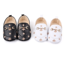 baby girl shoes Infant Cute Print first walker shoe