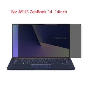 Защита экрана для ноутбука ASUS ZenBook 14, 14 дюймов, защита для конфиденциальности, защита от синего света, эффективная защита зрения