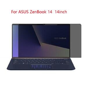 Para asus zenbook 14 14 polegada tela do portátil privacidade protetor de tela de privacidade anti-blu-ray proteção eficaz de visão