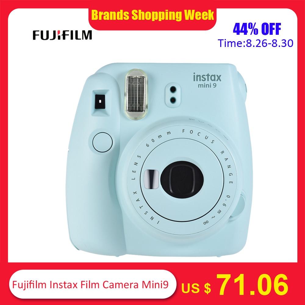 5 Colors Fujifilm Instax Mini 9 Instant Camera Photo Camera 2 Options/MINI 9+13 in 1 Kit Camera Case Filter+Album+Sticker+Other zwbra shower curtain