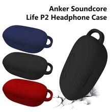 Kulaklık kapağı kılıfı kapaklı açılış esnek anti-şok silikon tam durumda Anker Soundcord özgürlük hava