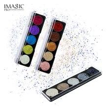 IMAGIC прессованные блестящие тени для век радужные тени для век косметика макияж прессованные блестящие алмазные тени для век