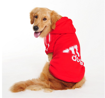 Big Pet Cartoon Dog Costumes Clothes Cotton Hoodies Jacket Winter Large Dog Sweaters Clothing Sports Dog Clothes