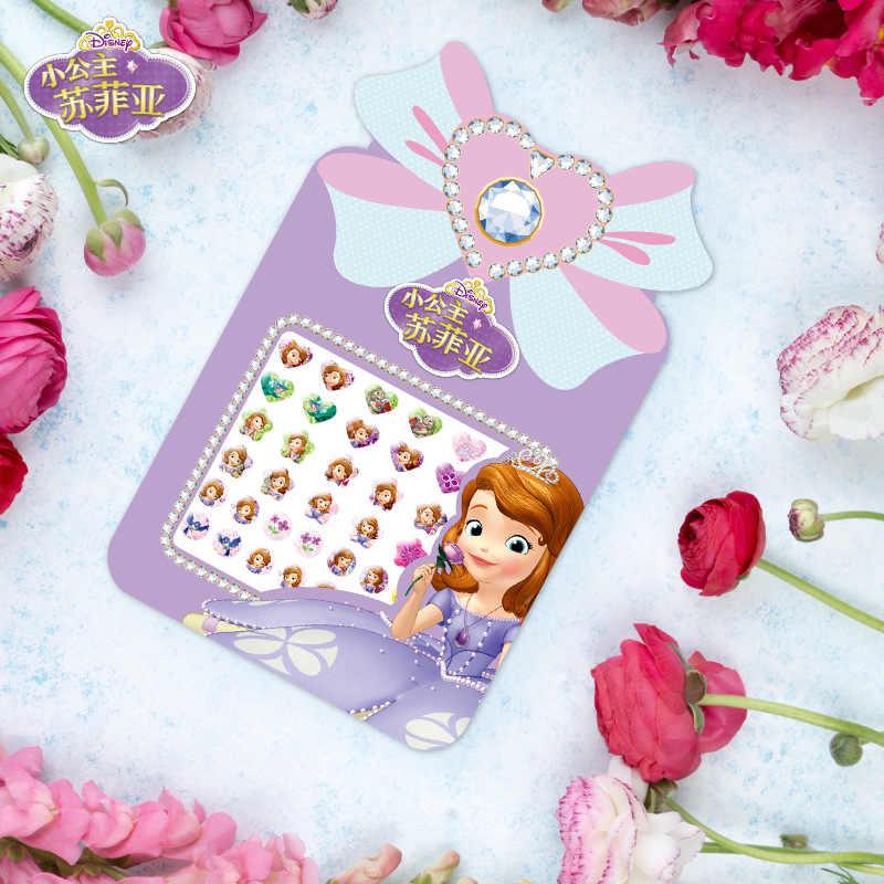 Disney Adesivo Giocattoli giocattolo del fumetto Sticker Congelato Principessa Sophia Little Pony Disney Principessa orecchino Della Vite Prigioniera Sticker bambino Giocattoli regalo