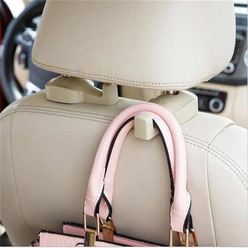 2 шт. автомобильный крюк авто подголовник для сиденья сумка из силикатного геля крючок для салона автомобиля вешалка для аксессуаров держатель Вешалка Подарочные костюмы