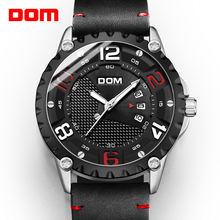 Dom модные спортивные мужские часы люксовый бренд аналоговые