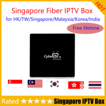 2019 Singapore Fiber TV IPTV box Vida Libre China HK TF Singapur Malasia Corea India Tailandia Japón Canal en vivo(China)