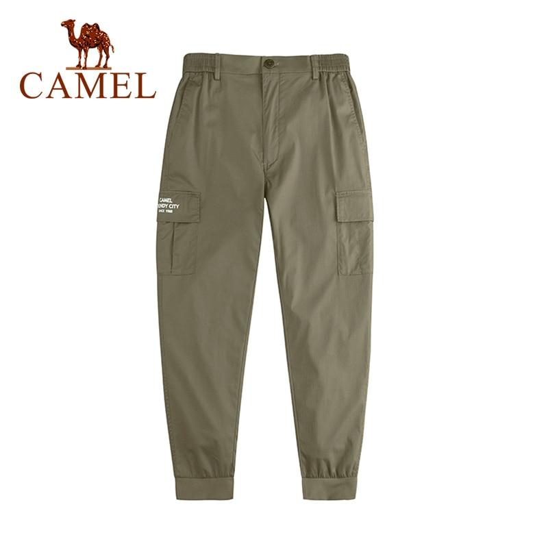 CAMEL New Arrivals Sports Outdoor Pants Men Comfortable Casual Pants Jogger Plus Size Cotton Trousers Black Male Cargo Pants