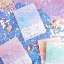 Русалка Твердой Обложке Журнал Дневник Штриховыми Линиями Сетки Белые Красивые Бумажки Блокнота
