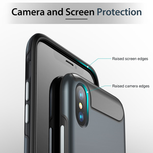 Image 3 - ESR Rambler Rugged Heavy Duty Case for iPhone X/XS/XR/XS Max Bumper Armor Case 360 Protective Shock Absorbing TPU Cover XS Case