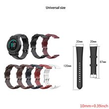 Fashion T-shaped oil wax calf leather strap for Ticwatch pro E2 S2